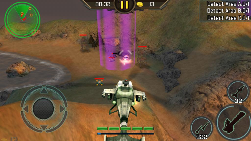скачать Вертолетная атака 3D на Android