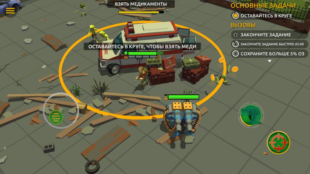 Zombie Blast Crew скачать